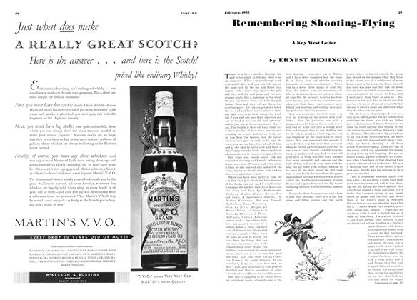 Article Preview: Remembering Shooting-Flying, February 1935 | Esquire