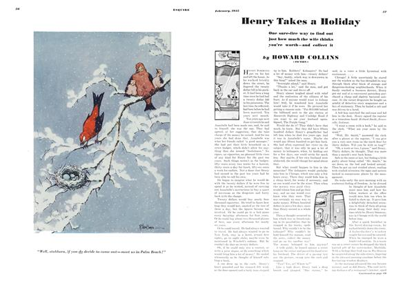 Article Preview: Henry Takes a Holiday, February, 1935 1935 | Esquire