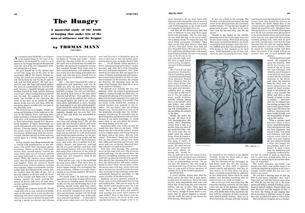 Article Preview: The Hungry, MARCH 1935 1935 | Esquire