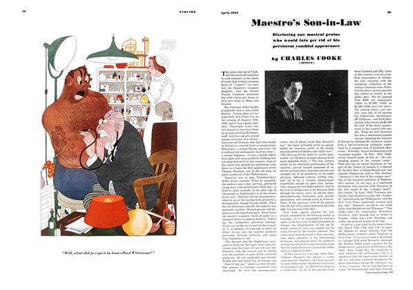 Article Preview: Maestro's Son-in-law, APRIL 1935 1935 | Esquire