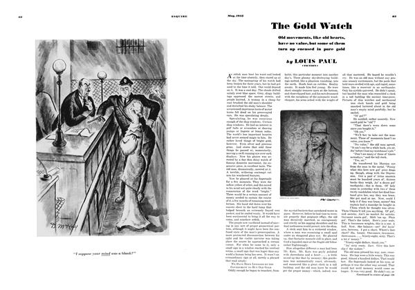 Article Preview: The Gold Watch, MAY 1935 1935 | Esquire