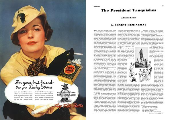 Article Preview: The President Vanquishes, JULY 1935 1935 | Esquire