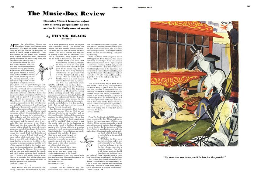 The Music-Box Review | Esquire | OCTOBER 1935