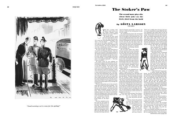 Article Preview: The Stoker's Paw, November, 1935 1935 | Esquire