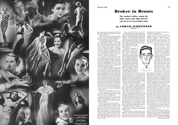 Article Preview: Broker in Beauts, JANUARY 1936 1936 | Esquire