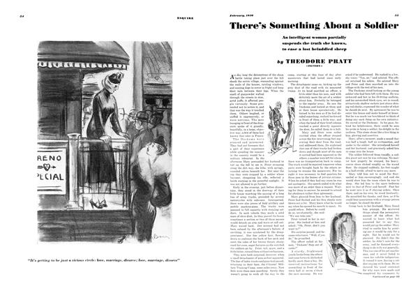Article Preview: There's Something About a Soldier, FEBRUARY 1936 1936 | Esquire