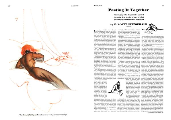 Article Preview: Pasting It Together, MARCH 1936 1936 | Esquire