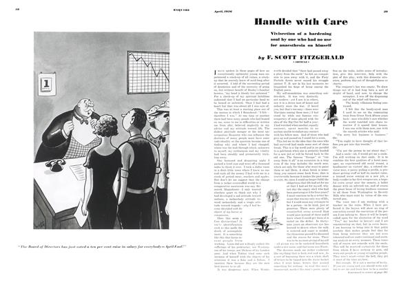 Article Preview: Handle with Care, April 1936 | Esquire