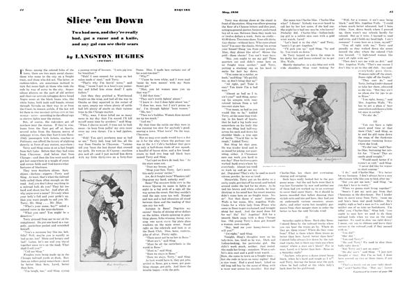 Article Preview: Slice 'em Down, MAY 1936 1936   Esquire