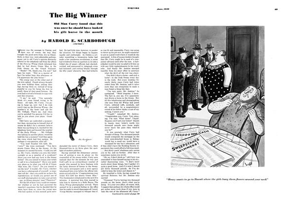 Article Preview: The Big Winner, JUNE 1936 1936 | Esquire