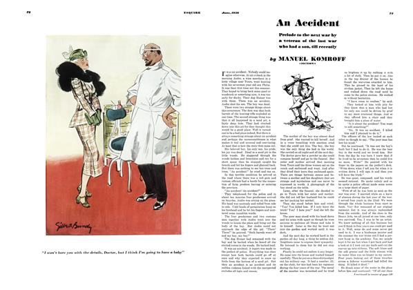 Article Preview: An Accident, JUNE 1936 1936 | Esquire
