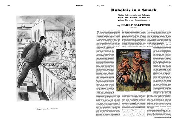 Article Preview: Rabelais in a Smock, JULY 1936 1936 | Esquire
