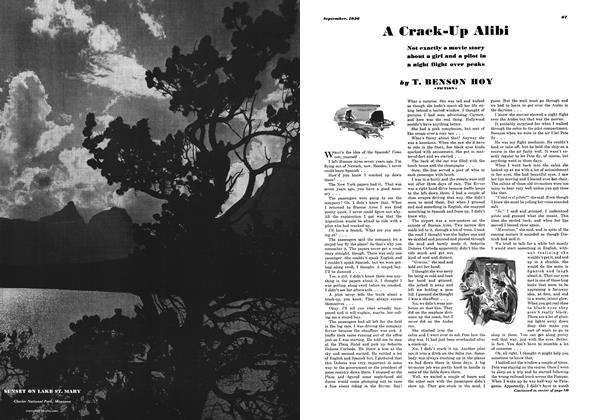 Article Preview: A Crack-up Alibi, SEPTEMBER 1936 1936   Esquire