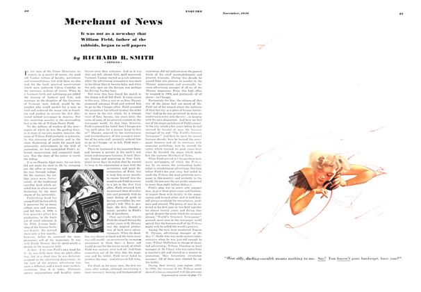 Article Preview: Merchant of News, NOVEMBER 1936 1936 | Esquire