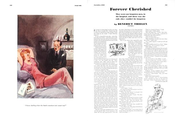 Article Preview: Forever Cherished, NOVEMBER 1936 1936 | Esquire
