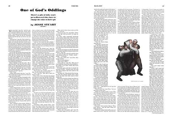 Article Preview: One of God's Oddlings, MARCH 1937 1937 | Esquire