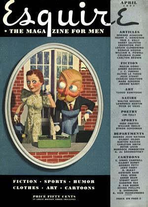 Cover for the April 1937 issue
