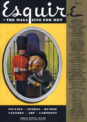 Cover for the May 1937 issue