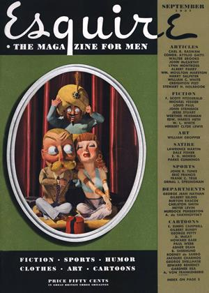 Cover for the September 1937 issue