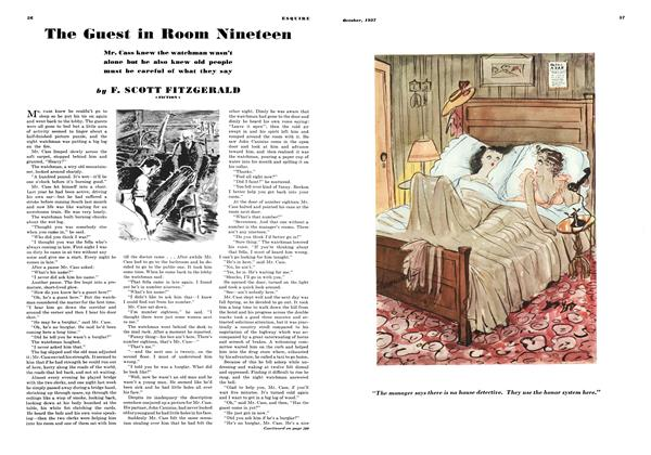 Article Preview: The Guest in Room Nineteen, OCTOBER 1937 1937 | Esquire