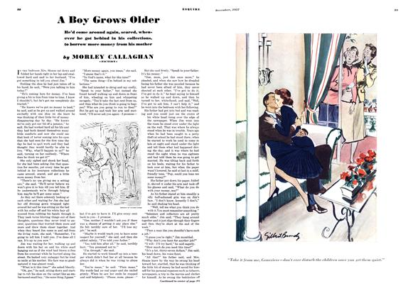 Article Preview: A Boy Grows Older, DECEMBER 1937 1937 | Esquire