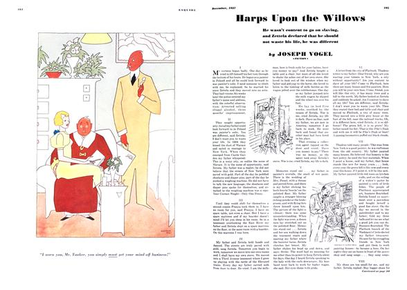 Article Preview: Harps Upon the Willows, DECEMBER 1937 1937 | Esquire