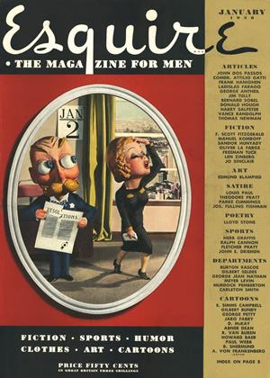 Cover for the January 1938 issue
