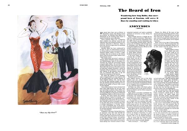 Article Preview: The Beard of Iron, FEBRUARY 1938 1938 | Esquire