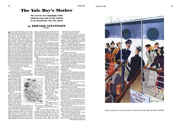 The Yale Boy's Mother