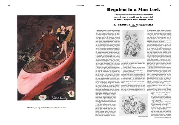 Article Preview: Requiem in a Man Lock, AUGUST 1938 1938 | Esquire
