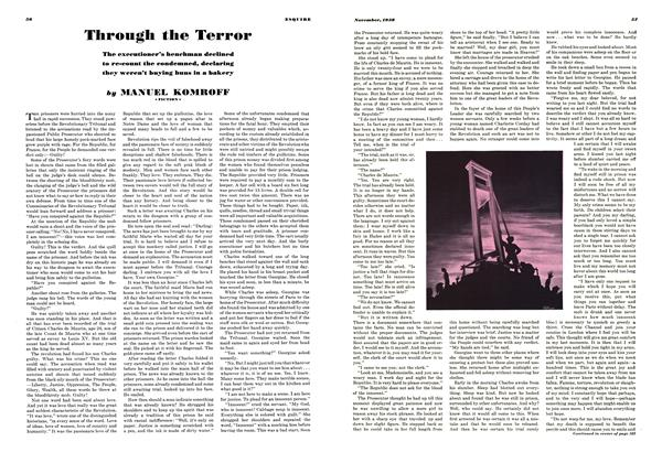 Article Preview: Through the Terror, November 1938 | Esquire