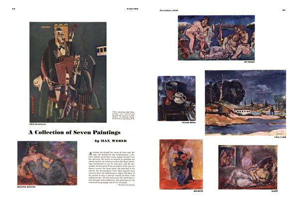 Article Preview: A Collection of Seven Paintings, November 1938 | Esquire