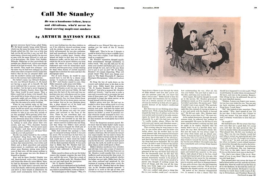 Call Me Stanley Esquire November 1938