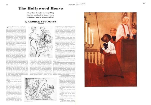 Article Preview: The Hollywood House, JANUARY 1939 1939 | Esquire
