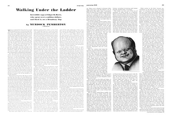Article Preview: Walking Under the Ladder, FEBRUARY 1939 1939 | Esquire