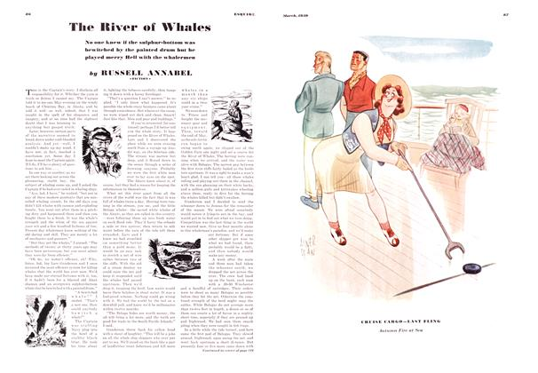 Article Preview: The River of Whales, MARCH 1939 1939 | Esquire