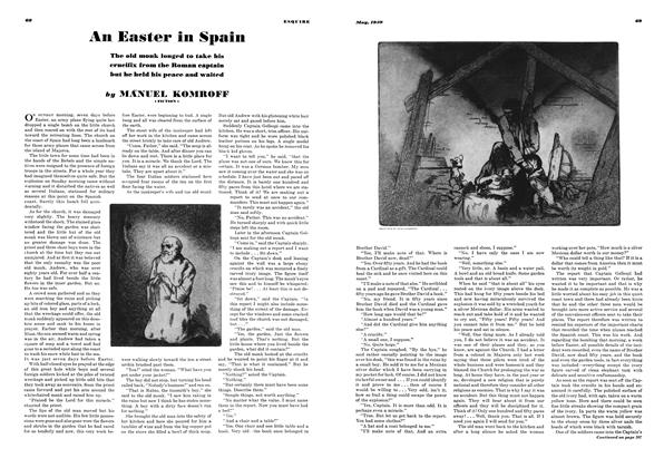 Article Preview: An Easter in Spain, MAY 1939 1939 | Esquire