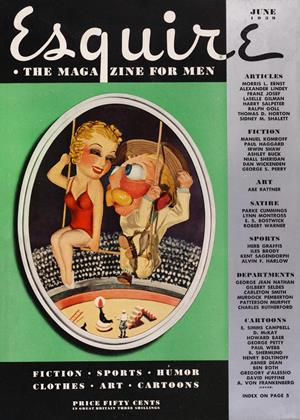 Cover for the June 1939 issue