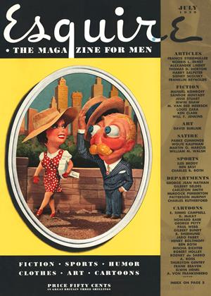 Cover for the July 1939 issue