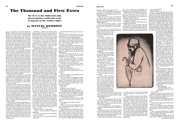 The Thousand and First Extra