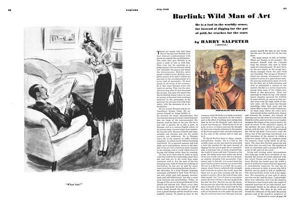 Burliuk: Wild Man of Art