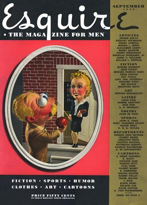 Cover for the September 1939 issue