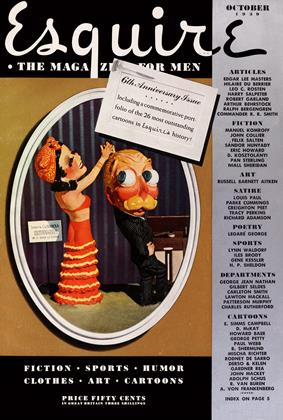 Cover for the October 1939 issue