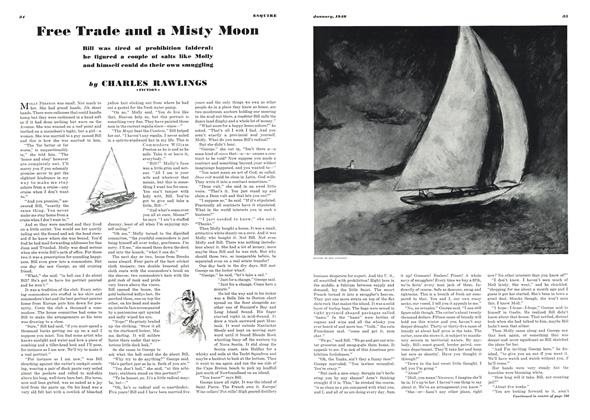 Article Preview: Free Trade and a Misty Moon, JANUARY, 1940 1940 | Esquire