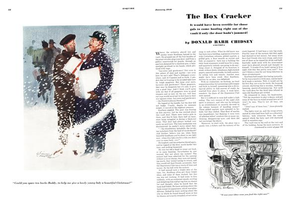 Article Preview: The Box Cracker, JANUARY, 1940 1940 | Esquire