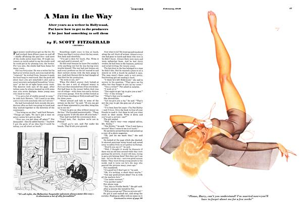 Article Preview: A Man in the Way, FEBRUARY 1940 1940 | Esquire