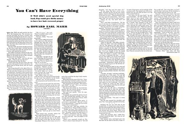 Article Preview: You Can't Have Everything, FEBRUARY 1940 1940 | Esquire
