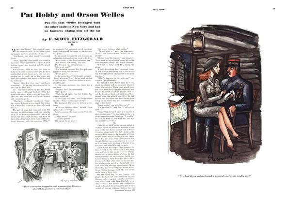 Article Preview: Pat Hobby and Orson Welles, May 1940 | Esquire