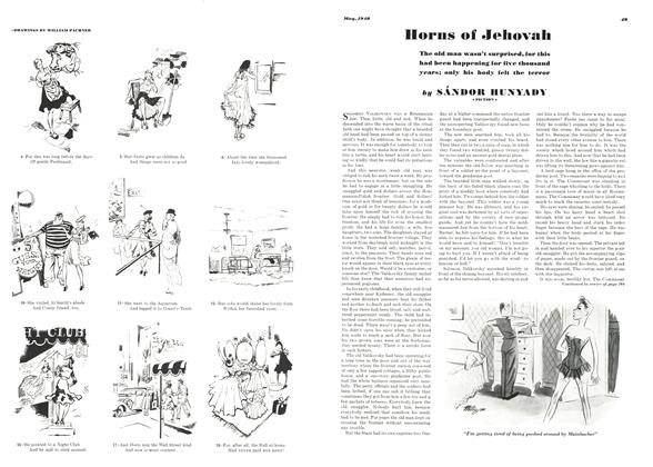 Article Preview: Horns of Jehovah, MAY 1940 1940   Esquire