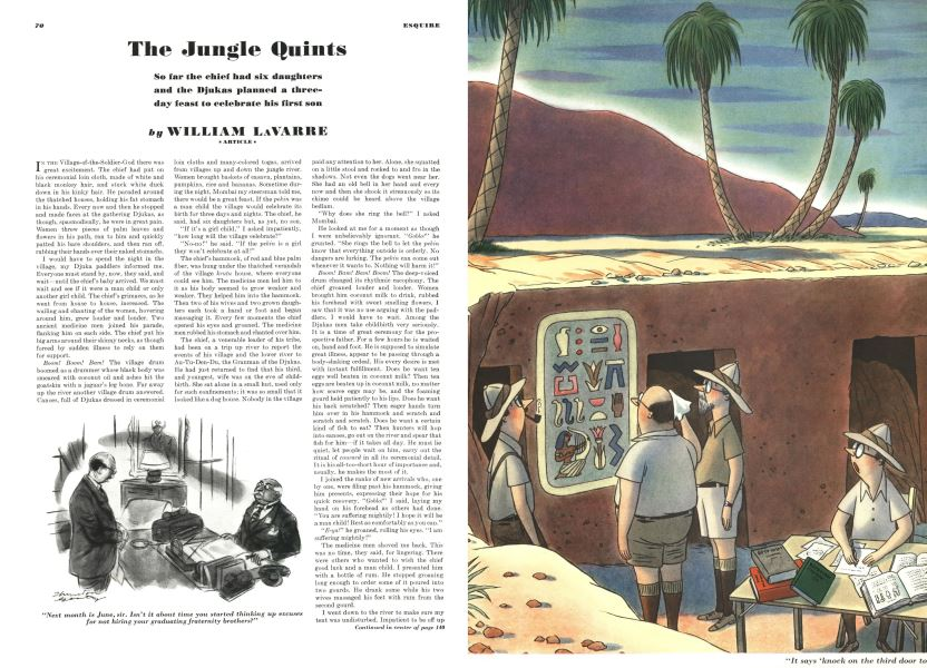 The Jungle Quints | Esquire | MAY 1940
